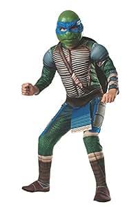 Teenage Mutant Ninja Turtles Rubies Teenage Mutant Ninja Turtles Deluxe Muscle Chest Leonardo Costume, Child Small
