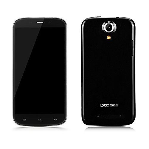 "Originale DOOGEE Nova Y100X Smartphone 5.0"" HD OGS Android 5.0 3G WCDMA GSM MT6582 Quattro Nucleo 1 GB+8GB 1.3GHz 5MP 8MP Doppia Telecamera Spina di EU"