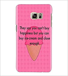 PrintDhaba Quote D-2921 Back Case Cover for SAMSUNG GALAXY NOTE 5 (Multi-Coloured)