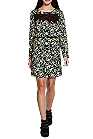 Ditsy Floral Insert Lace Dress [T69-2305J-S]