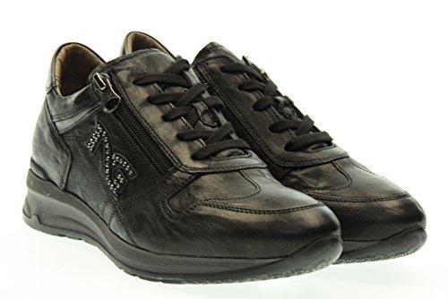 NERO GIARDINI donna sneakers basse A616055D/100 37 Nero