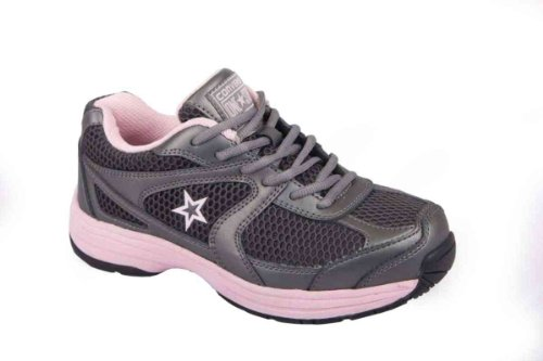 Converse C164 Women's Key Player Pewter Cross Trainer Steel Toe Shoe