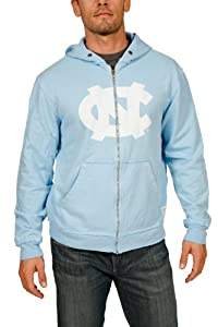 NCAA North Carolina Tar Heels Zip Hoodie Mens by Original Retro Brand