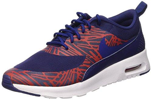 Nike Wmns Air Max Thea Print Scarpe da Ginnastica, Donna, Blu (Lyl Bl/Lyl Bl-Unvrsty Rd-White), 37 1/2