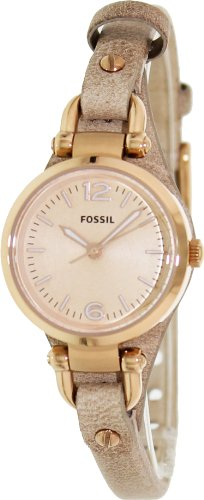Fossil ES3236 32 Stainless Steel Case Plastic Women's Quartz Watch