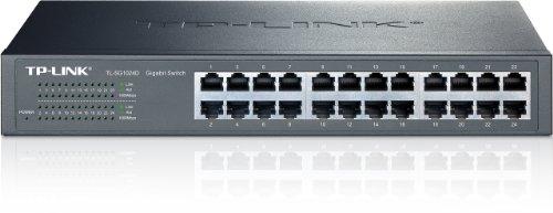 TP-Link TL-SG1024D Switch 24 Ports Gigabit (Bureau/Rackable, Boîtier Métal)