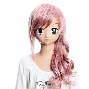 Costume Wigs Fabulous wigs Final Fantasy Charming Girls and Ladies Long Curly Wigs Party Wigs Fabulous wigs