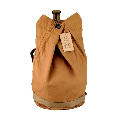 Kattee® Heavy Duty Canvas Sport Travel Backpack Shoulder <strong>Bag< strong> for Men <strong>Women< strong>