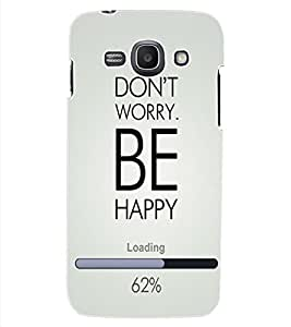 ColourCraft Quote Design Back Case Cover for SAMSUNG GALAXY ACE 3 S7272 DUOS
