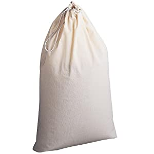 Household Essentials Natural Cotton Laundry Bag Extra Large