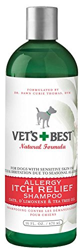 Vet's Best ALLERGY ITCH Relief Dog Shampoo 16 oz