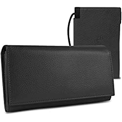 Halo Women's Power Wallet with RFID Protection (Multiple Colors)