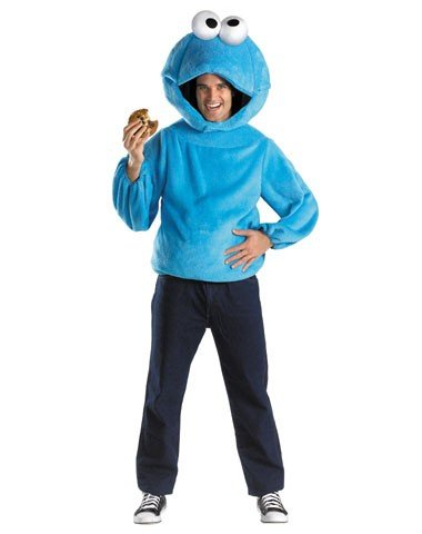 Disguise Inc Men's Sesame Street Cookie Monster Costume