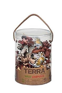 Terra - 44654 - Figurine - Animaux Sauvages - en Tube