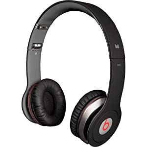 Beats by Dr. Dre Beats Solo Headphones with ControlTalk from Monster - Black (Old Version)