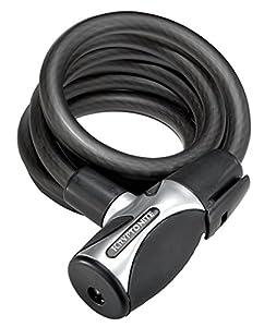 Kryptonite 1565 Kryptoflex Cable Lock with Flexframe Support 15 mm x 65 cm Black