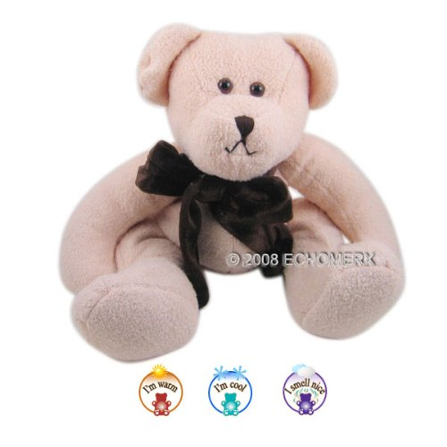 Buff Chamois Bear- Aromatherapy Stuffed Animal - Hot And Cold Therapy