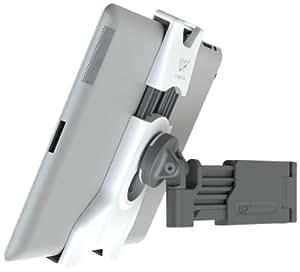 """XFlat UP450 - Universelles Halter System (weiß) für ALLE TABLETS von 7"""" bis 12"""" Zoll, u.A. iPad, Galaxy Tab, Kindle, etc. - inkl. 1 Stück schwenkbare Teleskoparm Wandhalterung (PM-Up-400) - kompatibel"""