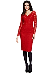 Per Una Speziale Lace Shift Dress