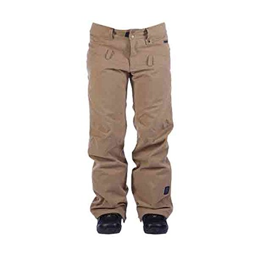 Ride Snowboards Women's Wasted Pant, Camel Wool, Small