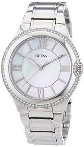 Guess Damen-Armbanduhr Analog Quarz Edelstahl W12117L1