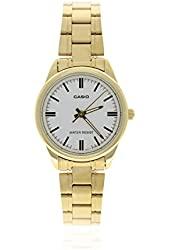 Casio Women's LTP-V005G-7A GOLD Stainless Steel Analog Watch