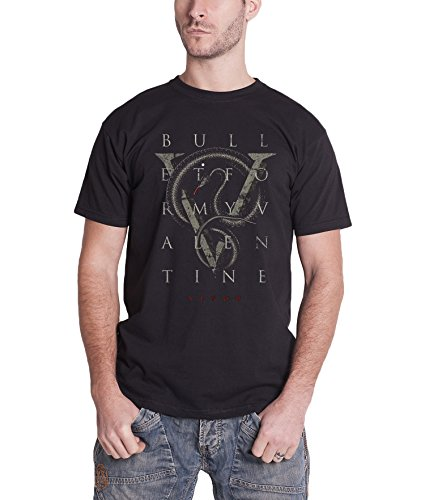 Bullet For My Valentine V Is For Venom Official Mens New Black T Shirt