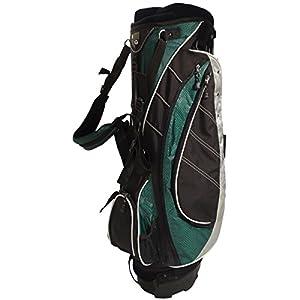 NEW Ultralite Stand / Carry Golf Bag 8-way Top Lightweight KG Black / Green