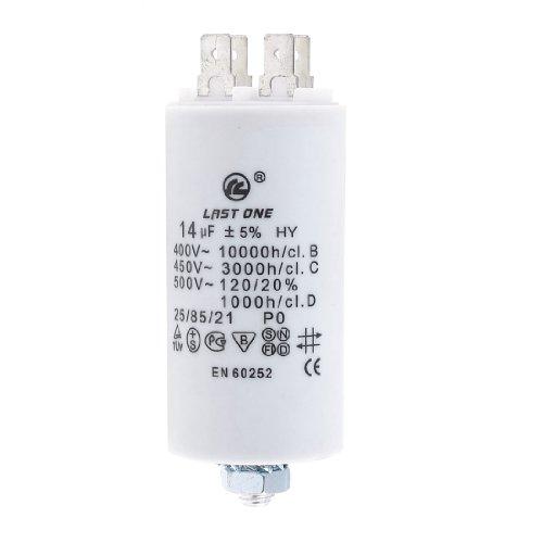 14Mfd 14Uf 450V Cylinder Electric Ac Motor Run Start-Up Capacitor