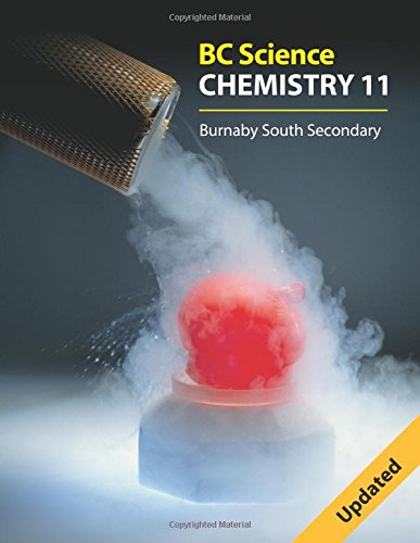 Bc Science Chemistry 11: Burnaby South Secondary