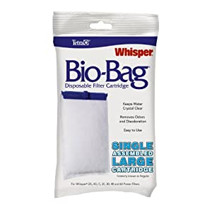 Tetra 26161 Whisper Bio-Bag Cartridge, Large, 1-Pack