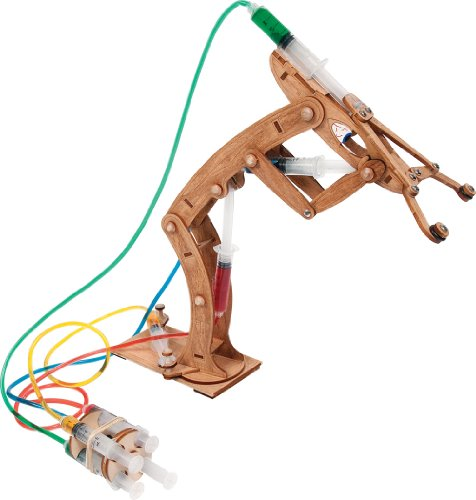 Pitsco Laser-Cut Basswood T-Bot II Hydraulic Arm (Individual Pack)