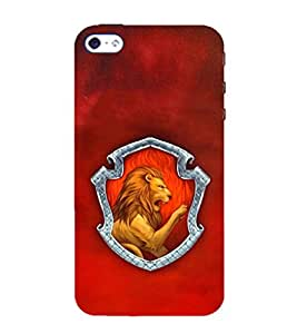 EPICCASE Lion roaring Mobile Back Case Cover For Apple iPhone 4/4s (Designer Case)