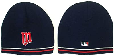 Minnesota Twins Knit Player's Performance Beanie (Skull Cap) Stocking Hat (Toque)