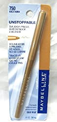 Maybelline Unstoppable Eyeliner 750 Gold Aura