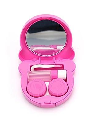 Monkey Design Portable Contact Lens Case Travel Kit