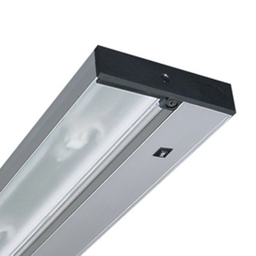 Juno Lighting Group Upl09-Sl Pro-Series Led Under Cabinet Fixture, 9-Inch, 2-Lamp, Brushed Silver