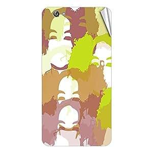 Garmor Designer Mobile Skin Sticker For Gionee V185 - Mobile Sticker