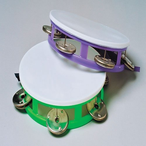 Colored Tambourines