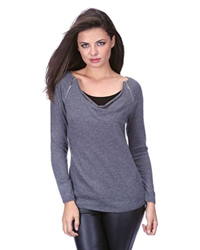 Cachemire By Bleu marine Pullover