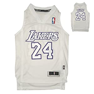 LIMITED EDITION: NBA LOS ANGELES LAKERS BRYANT #24 Youth Sleeveless Jersey by NBA