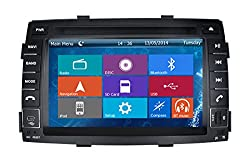 See Crusade Car DVD Player for KIA Sorento 2010-2012 Support 3g,1080p,iphone 6s/5s,external Mic,usb/sd/gps/fm/am Radio 7 Inch Hd Touch Screen Stereo Navigation System+ Reverse Car Rear Camara + Free Map Details