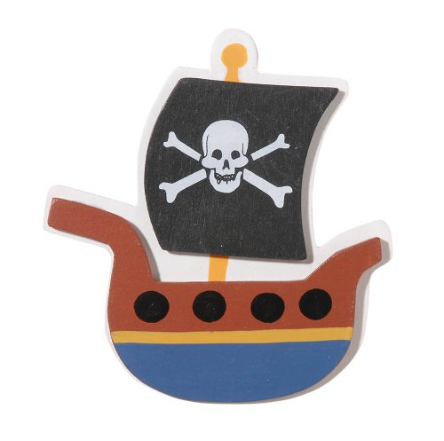Darice 9189-90 Pirate Ship Cutout - 1