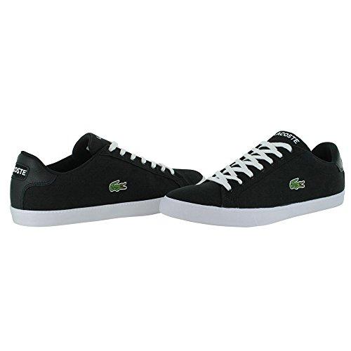 Lacoste Men's Grad Vulc Fb Fashion Sneaker Fashion Sneaker, Black/white, 9.5 M US