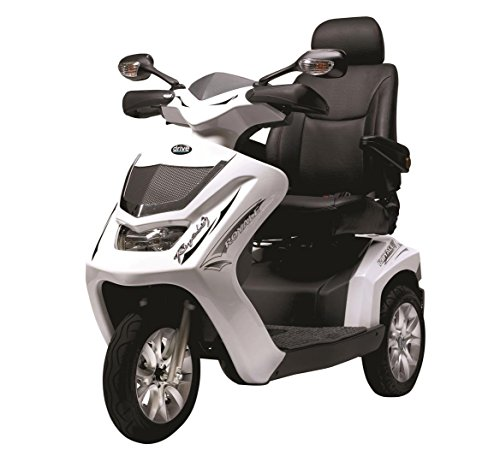 Drive-Medical-Royale-3-Class-3-Deluxe-Heavy-Duty-3-Wheel-Mobility-Scooter-White