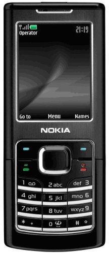 SIM Free Unlocked Nokia 6500 Classic (Black) Mobile Phone