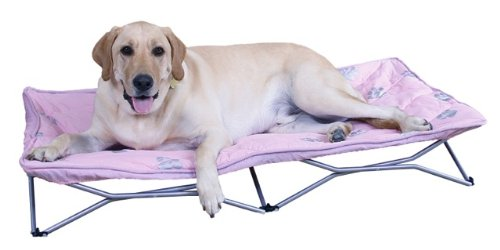 Carlson Pet Products Large Portable Pup Travel Pet Bed, Pink