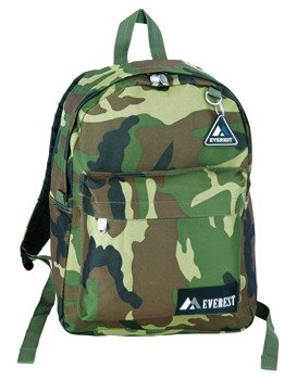 Everest Camouflage Classic Backpack Daypack Camo Pack