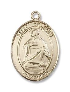 14kt Gold St. Charles Borromeo Medal