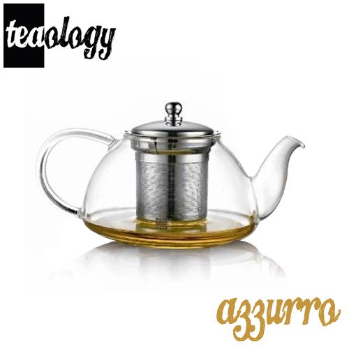 Teaology Azzurro Borosilicate Infusion Teapot
